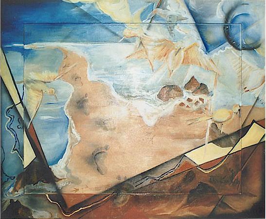 Acryl und Airbrush, Größe ca.115x90 cm