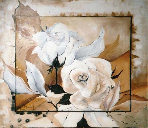Acryl, Größe ca. 100x80 cm